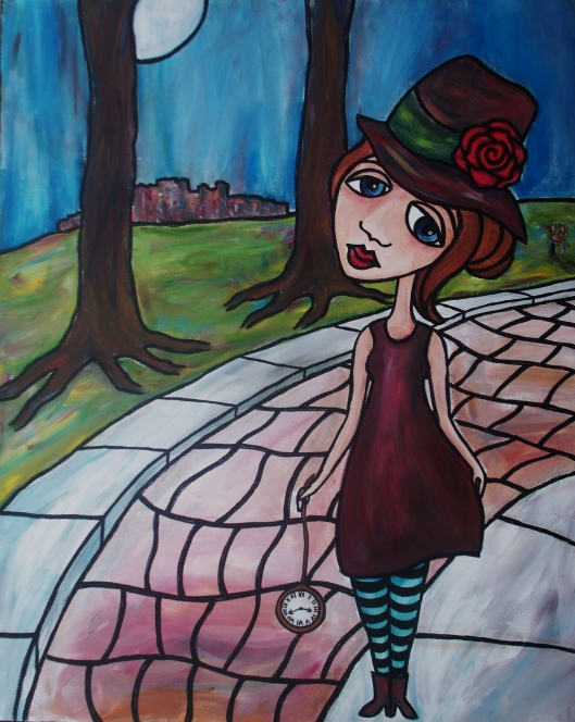 Time and Memory Painting by Mary Claire