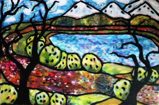 True Nature by Mary Claire Acrylic painting on canvas