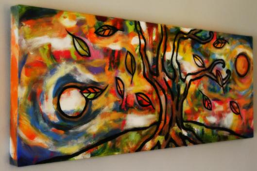 Stillness on Wall